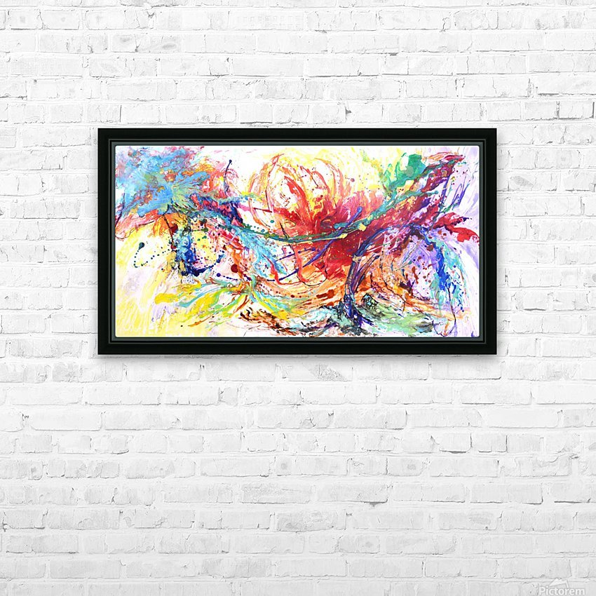 Riding Colors  HD Sublimation Metal print with Decorating Float Frame (BOX)