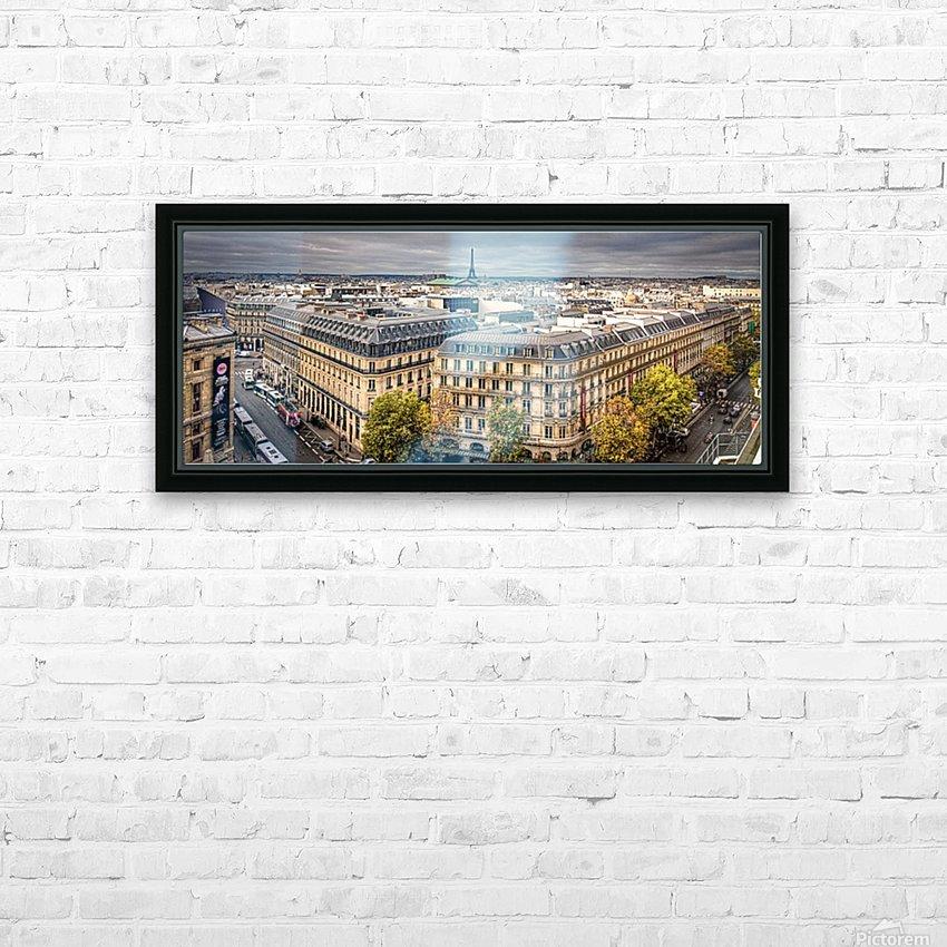 Paris HD Sublimation Metal print with Decorating Float Frame (BOX)