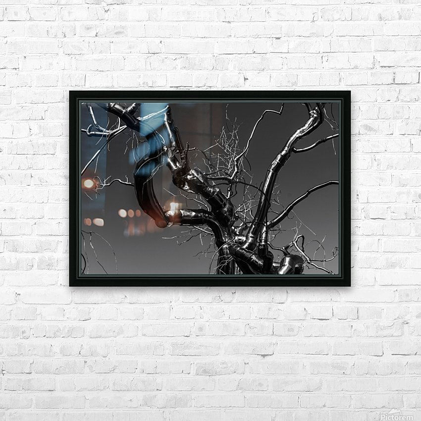 Metal tree HD Sublimation Metal print with Decorating Float Frame (BOX)