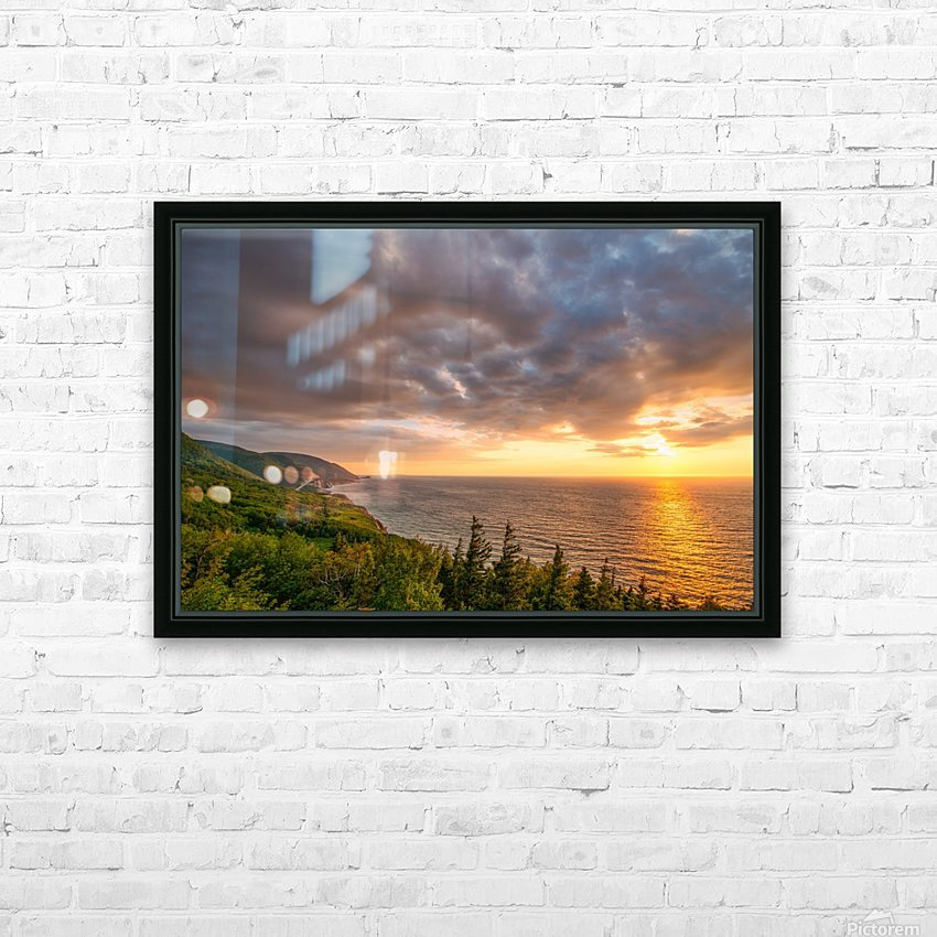 The Endless Sun HD Sublimation Metal print with Decorating Float Frame (BOX)