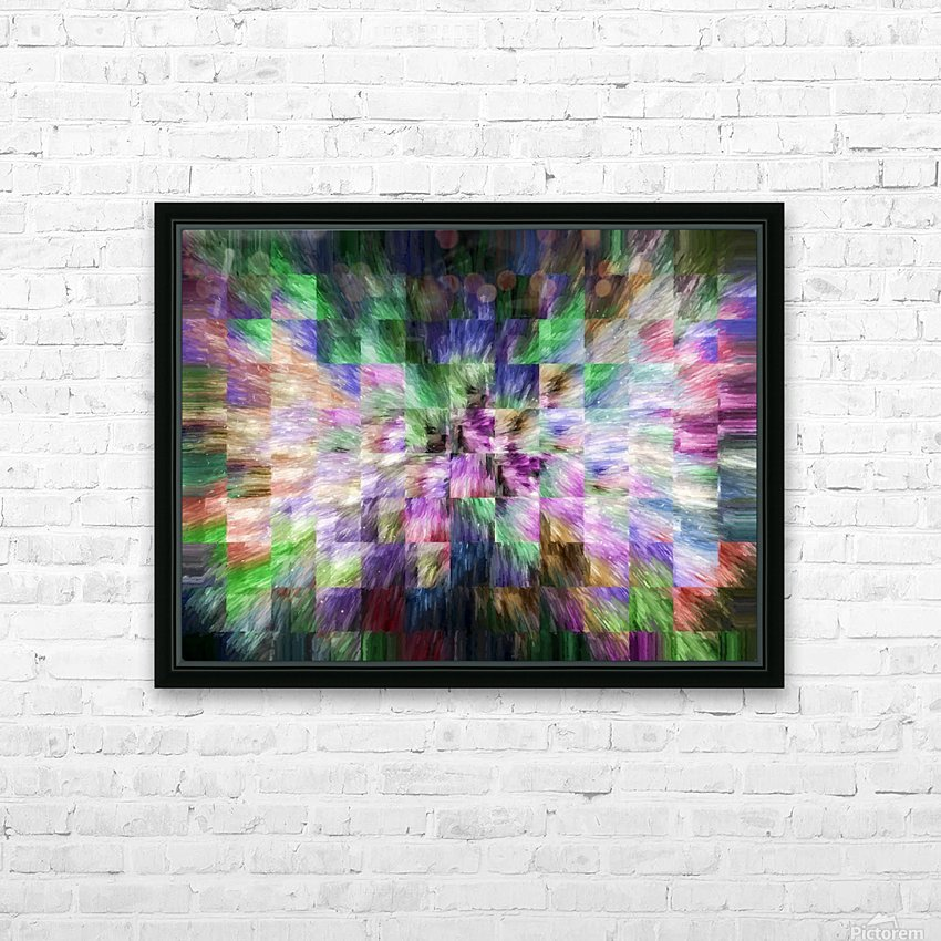A Brush of Angel Wings HD Sublimation Metal print with Decorating Float Frame (BOX)