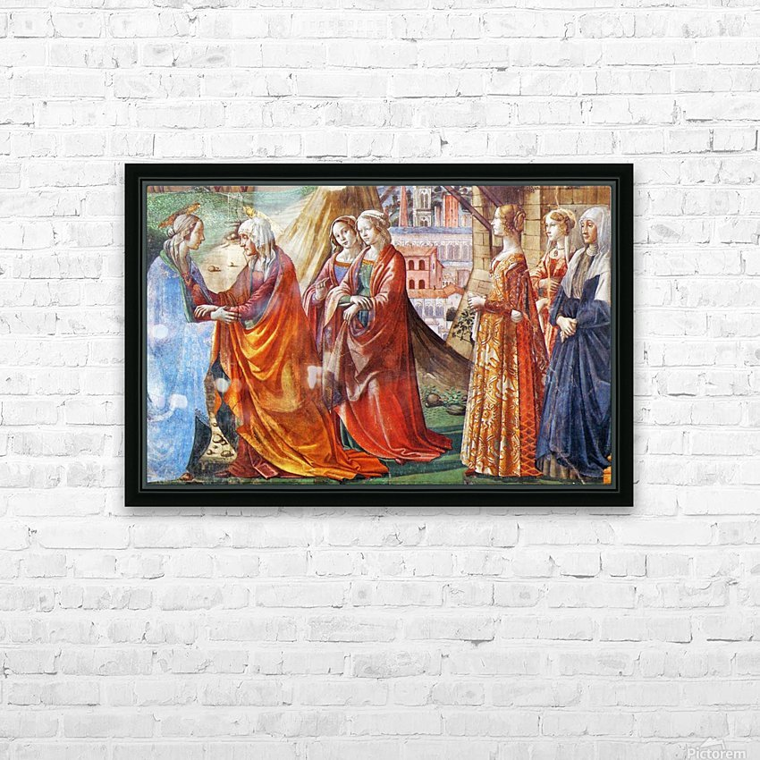 The Visitation HD Sublimation Metal print with Decorating Float Frame (BOX)