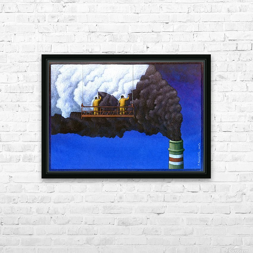 Pawel Kuczynski 21 HD Sublimation Metal print with Decorating Float Frame (BOX)