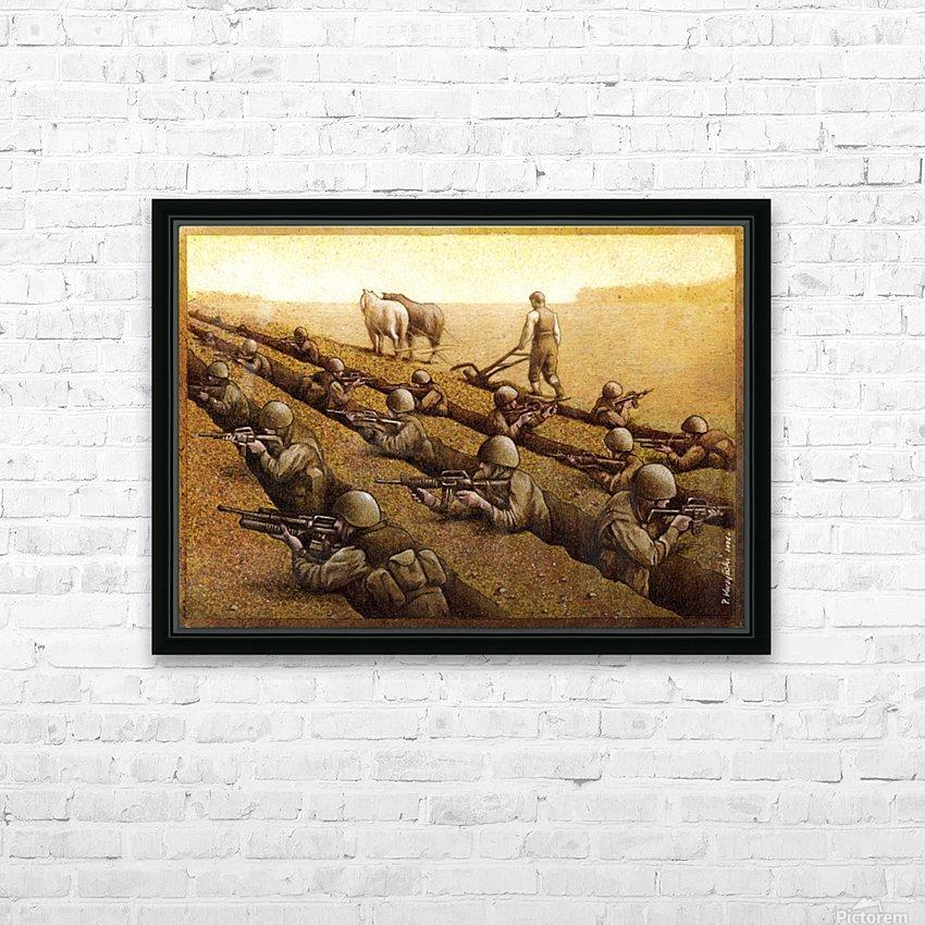 Pawel Kuczynski 26 HD Sublimation Metal print with Decorating Float Frame (BOX)