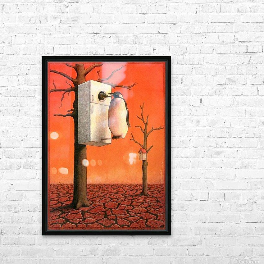 Pawel Kuczynski 29. HD Sublimation Metal print with Decorating Float Frame (BOX)