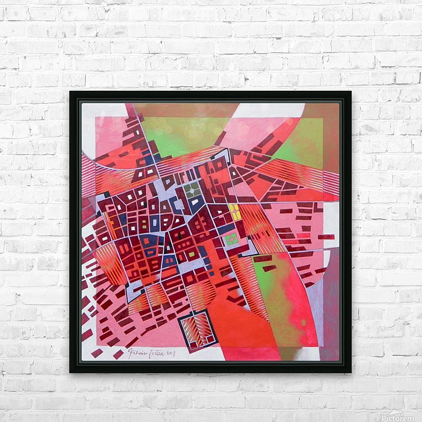A journey to Italy Abbiategrasso HD Sublimation Metal print with Decorating Float Frame (BOX)