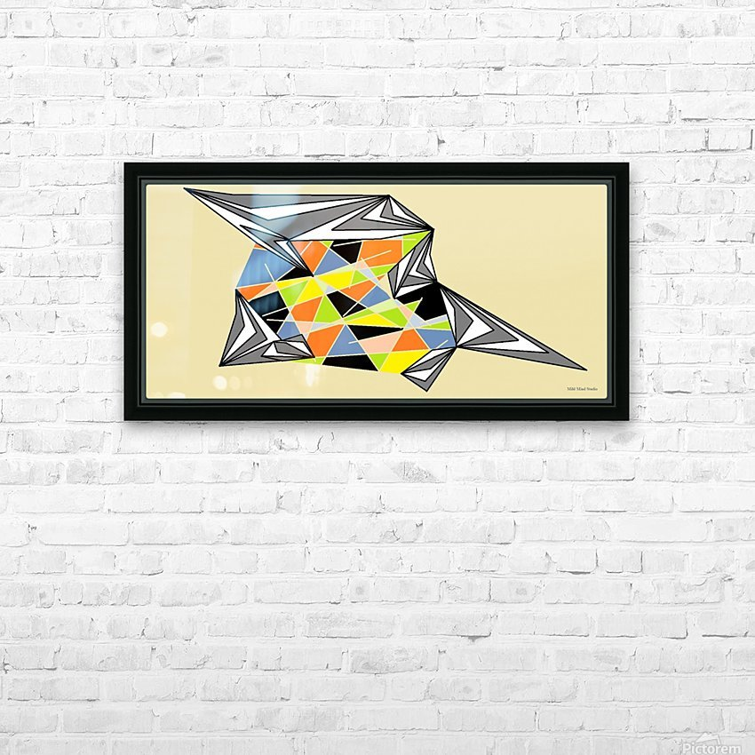 Starship HD Sublimation Metal print with Decorating Float Frame (BOX)