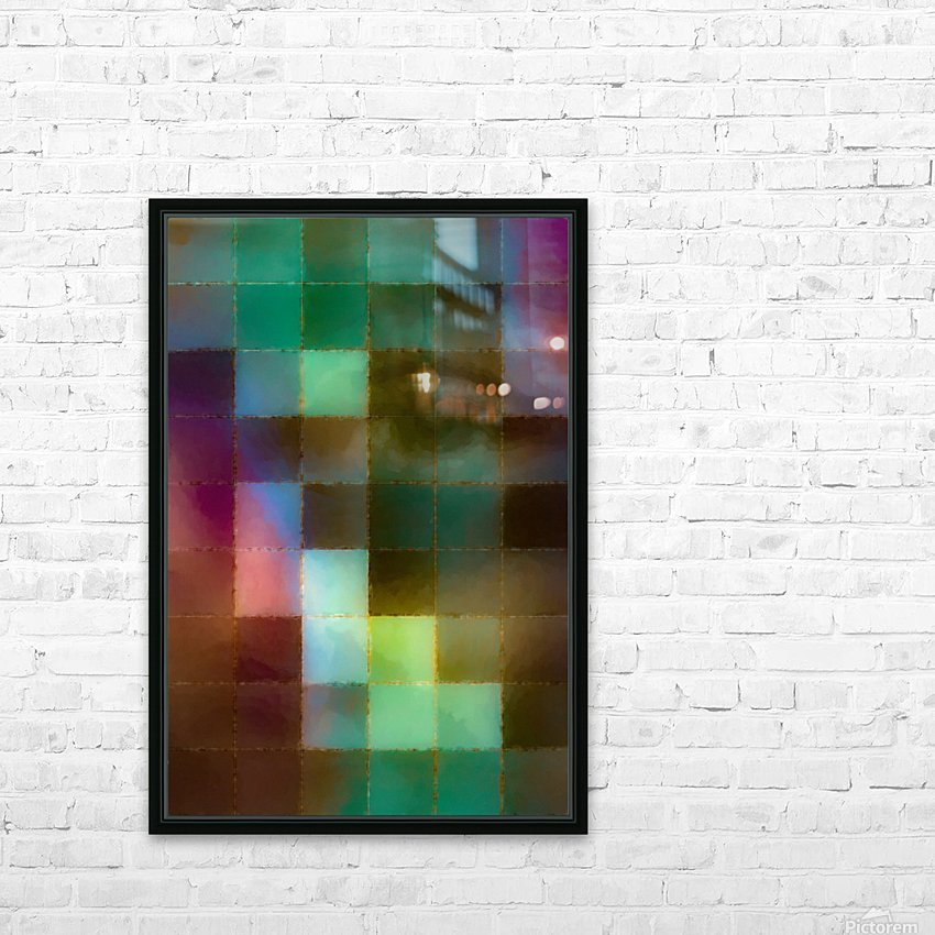 Lily HD Sublimation Metal print with Decorating Float Frame (BOX)