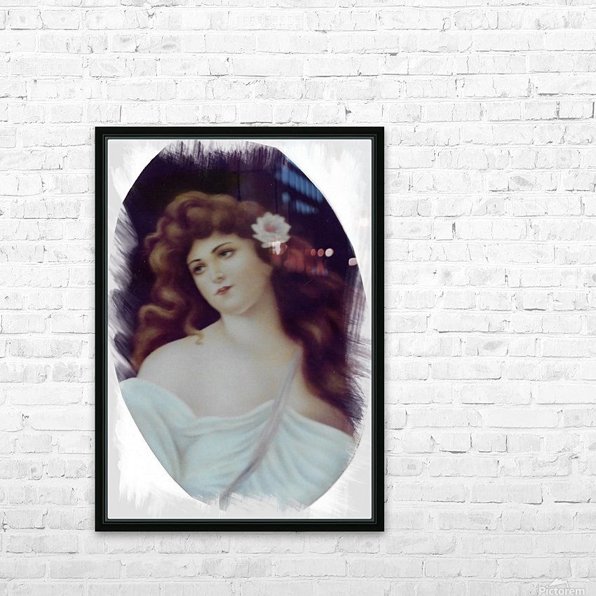 Titian Beauty HD Sublimation Metal print with Decorating Float Frame (BOX)