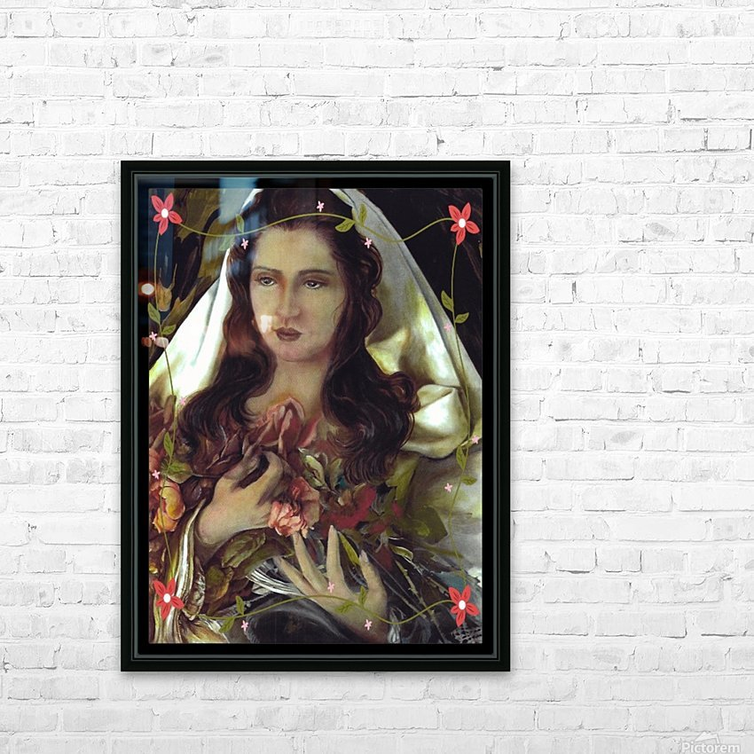 Madonna 12 HD Sublimation Metal print with Decorating Float Frame (BOX)