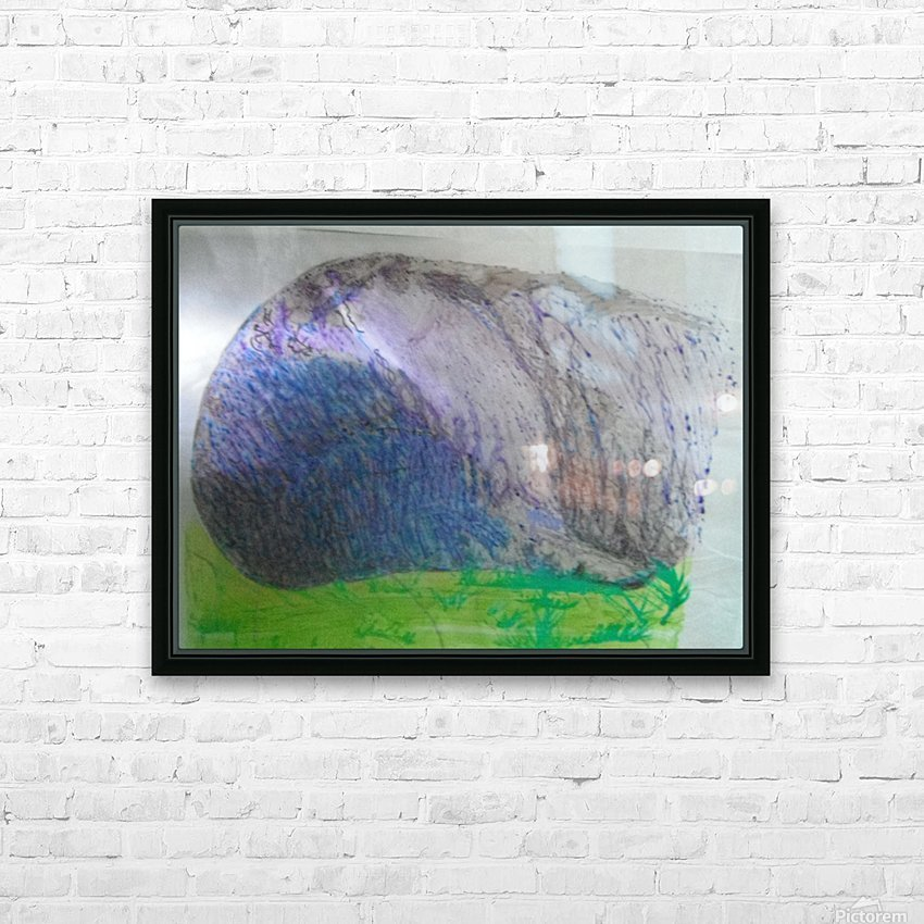 End of sheep HD Sublimation Metal print with Decorating Float Frame (BOX)