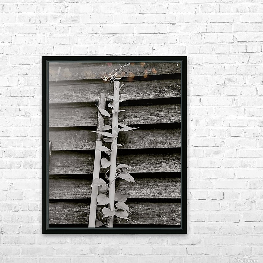 Garden tool vines HD Sublimation Metal print with Decorating Float Frame (BOX)