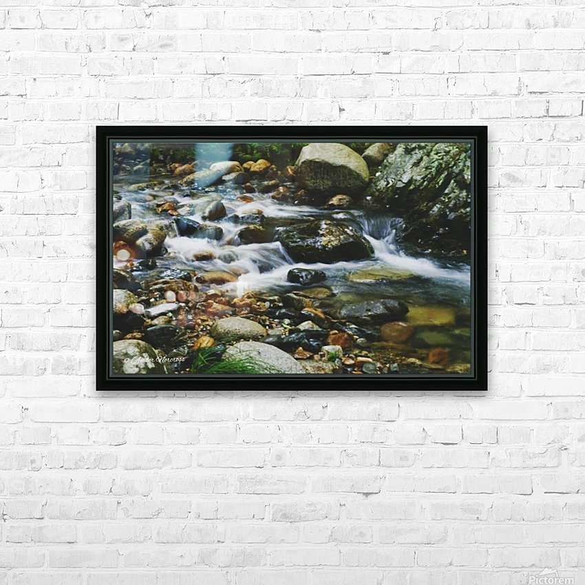 Rocky HD Sublimation Metal print with Decorating Float Frame (BOX)