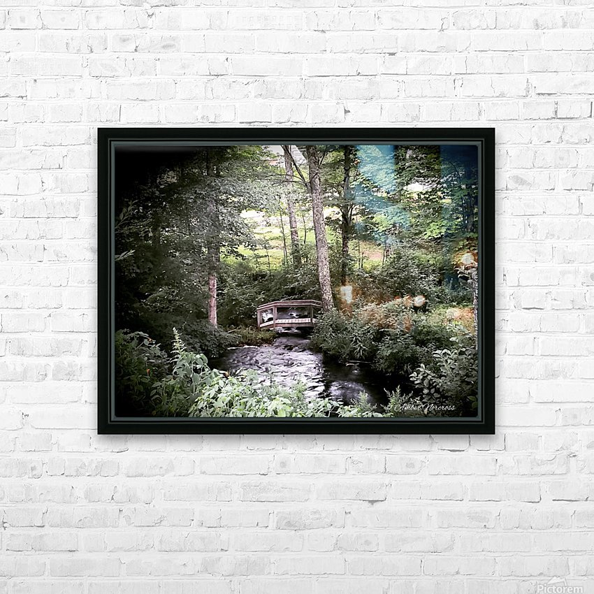 Hidden path HD Sublimation Metal print with Decorating Float Frame (BOX)