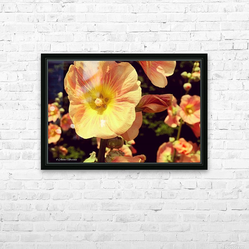 Mid Summer Blossom HD Sublimation Metal print with Decorating Float Frame (BOX)