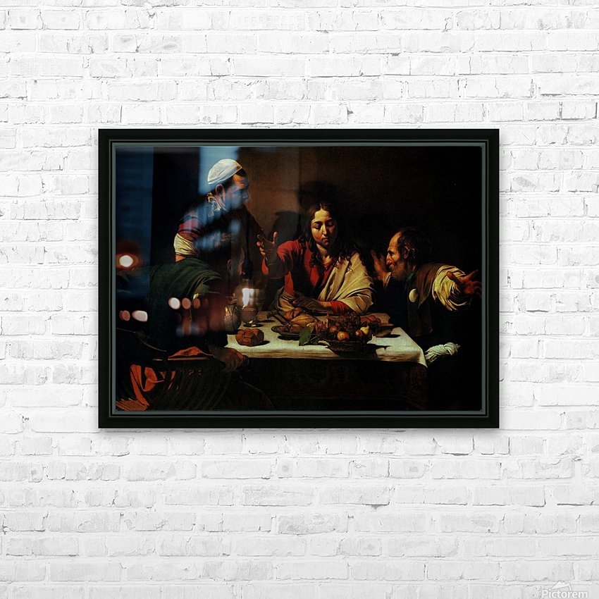 The Dinner HD Sublimation Metal print with Decorating Float Frame (BOX)