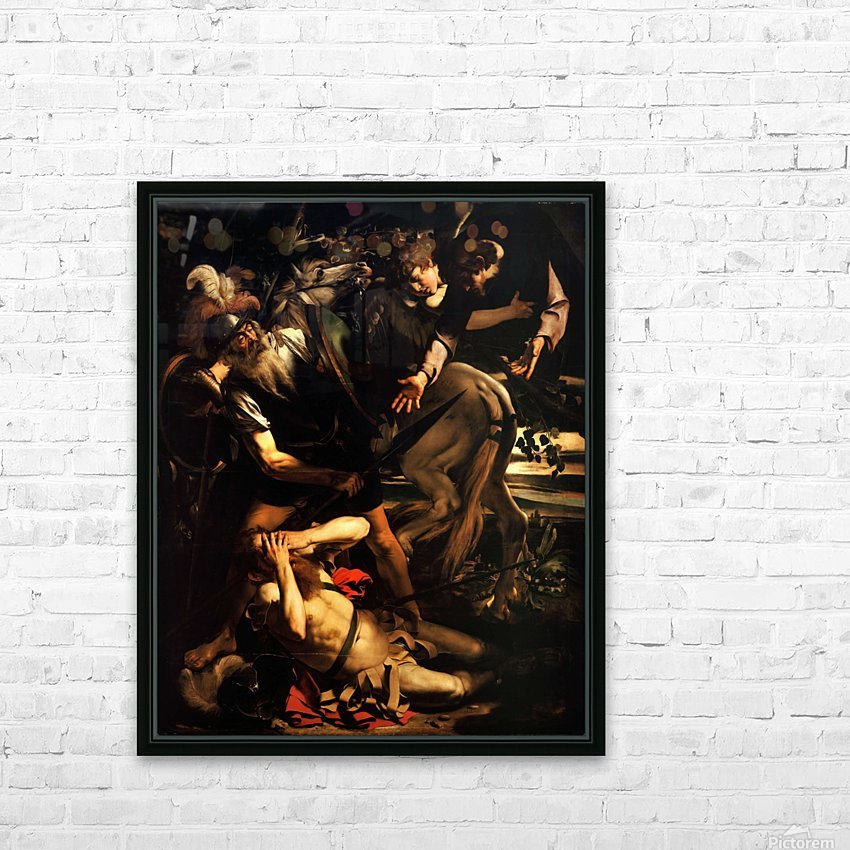 The conversion of Saint Paul HD Sublimation Metal print with Decorating Float Frame (BOX)
