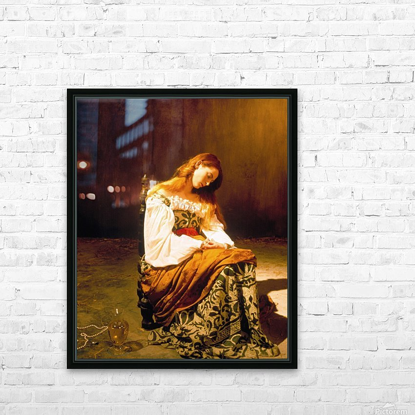 Tilda Swinton HD Sublimation Metal print with Decorating Float Frame (BOX)