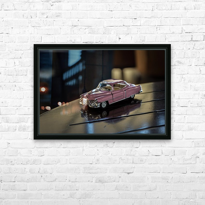 AZY_5255 HD Sublimation Metal print with Decorating Float Frame (BOX)