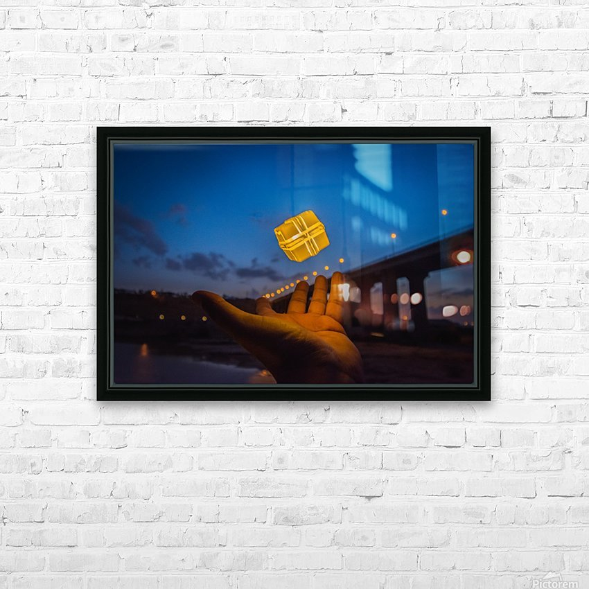 AZY_3203 HD Sublimation Metal print with Decorating Float Frame (BOX)