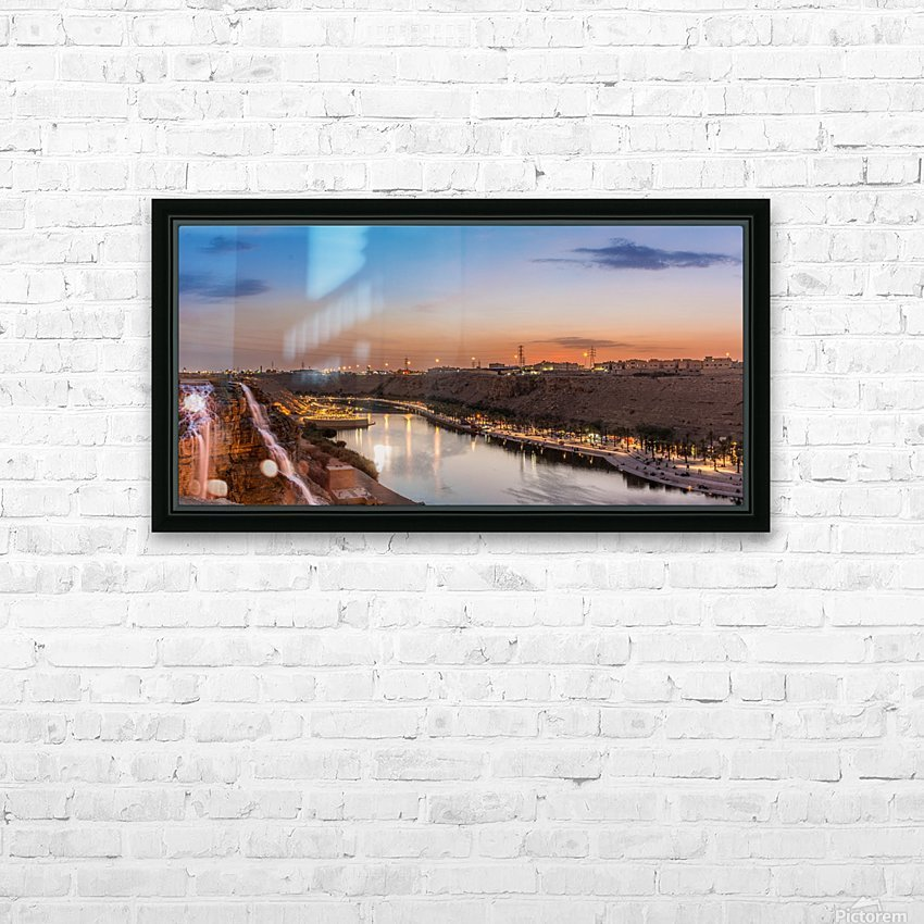 DSC_4609 Pano HD Sublimation Metal print with Decorating Float Frame (BOX)