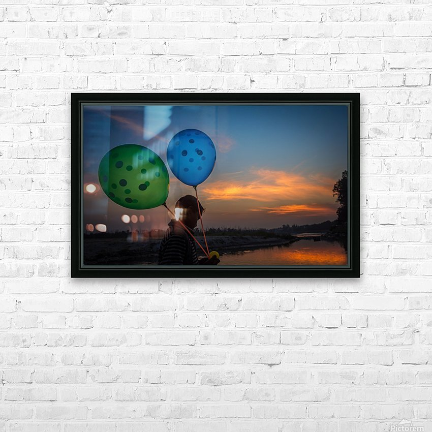 DSC_9158 HD Sublimation Metal print with Decorating Float Frame (BOX)