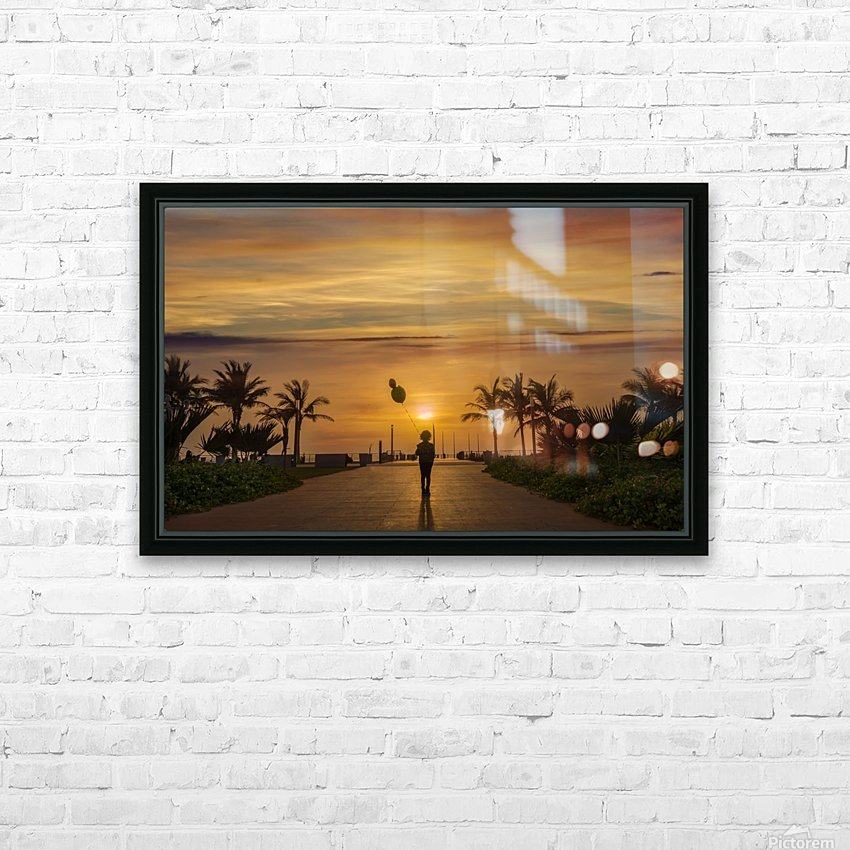 AZY_3542 HD Sublimation Metal print with Decorating Float Frame (BOX)