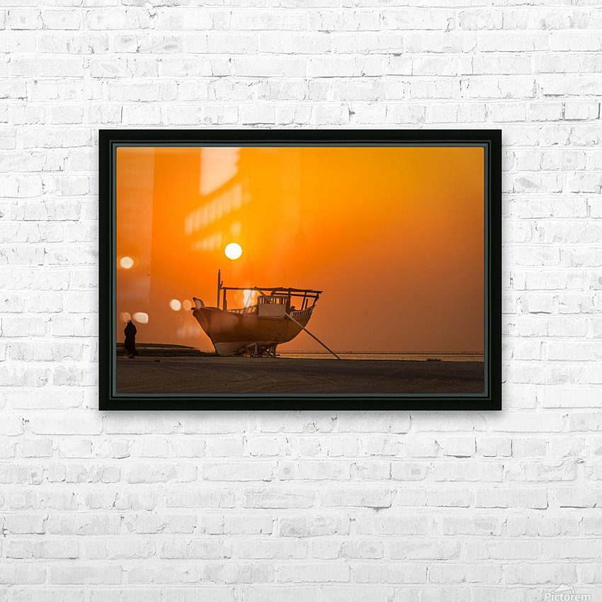 AZY_4350 HD Sublimation Metal print with Decorating Float Frame (BOX)