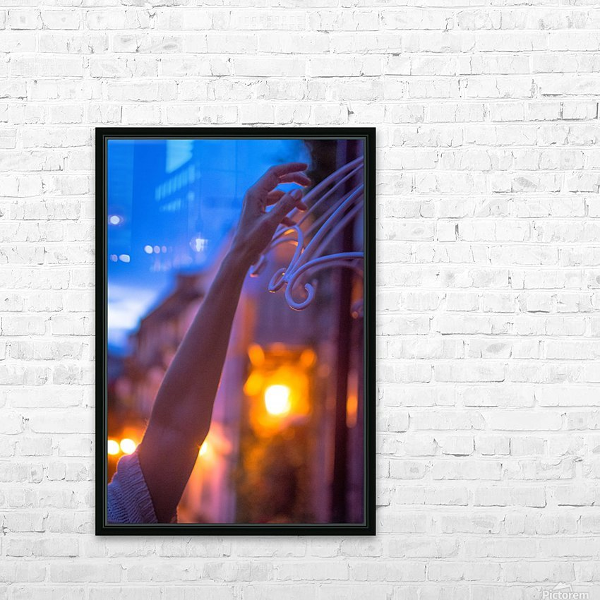 AZY_4615 HD Sublimation Metal print with Decorating Float Frame (BOX)