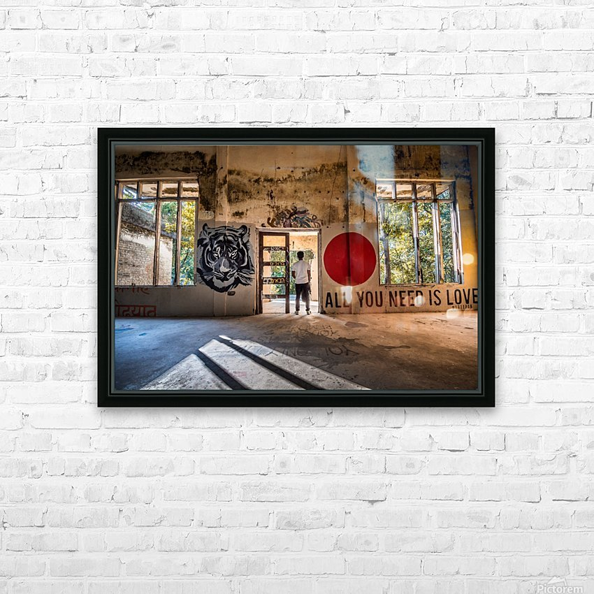 DSC_9028 HD Sublimation Metal print with Decorating Float Frame (BOX)