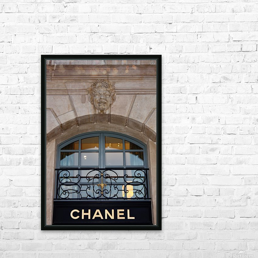 Chanel Paris HD Sublimation Metal print with Decorating Float Frame (BOX)