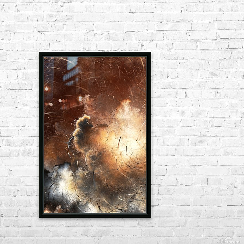 Dark Skies of the Soul HD Sublimation Metal print with Decorating Float Frame (BOX)
