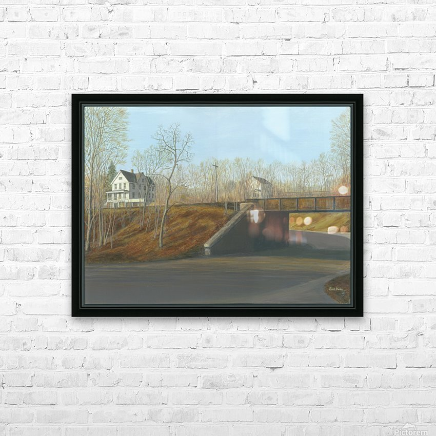 Botsford Underpass - Newtown Scenes  18X24 HD Sublimation Metal print with Decorating Float Frame (BOX)