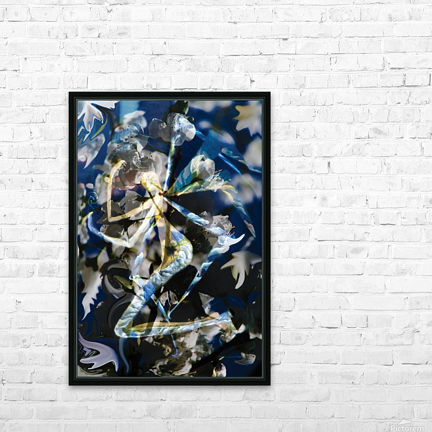 abstract winged angel HD Sublimation Metal print with Decorating Float Frame (BOX)