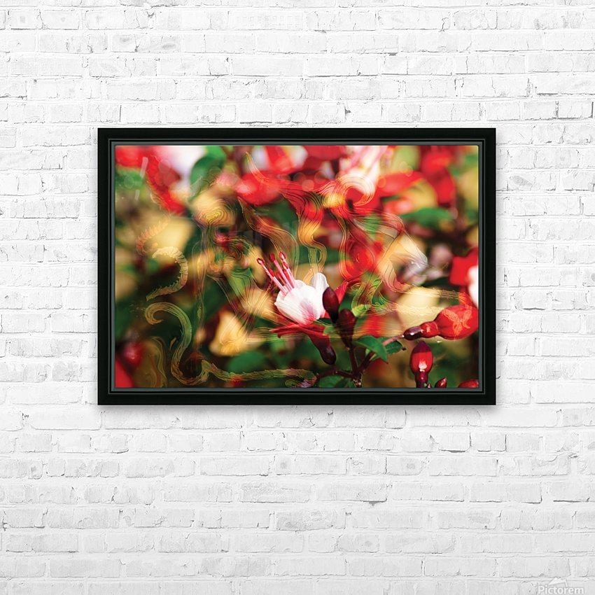 beyond visible HD Sublimation Metal print with Decorating Float Frame (BOX)