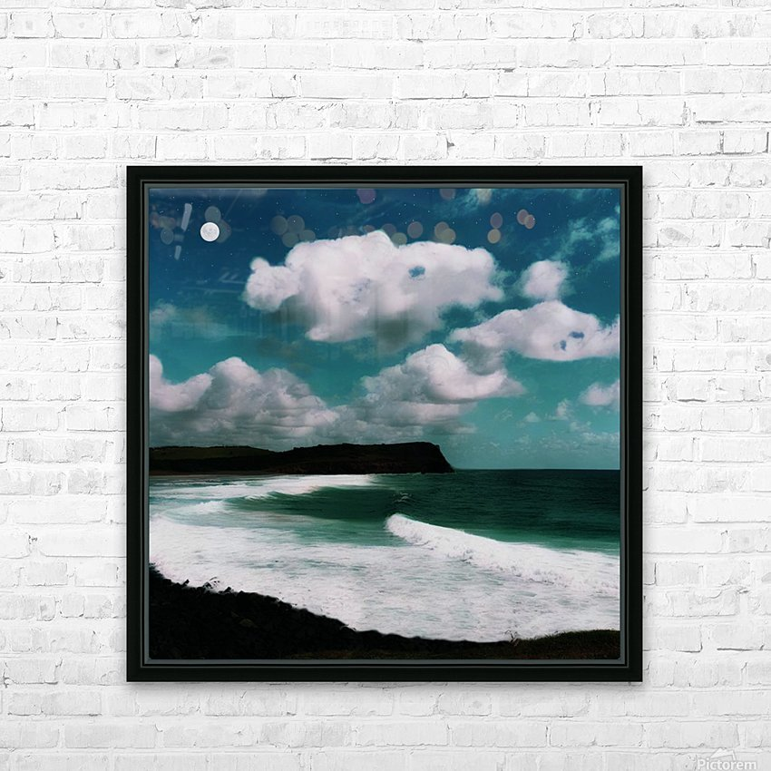 Night Magic HD Sublimation Metal print with Decorating Float Frame (BOX)