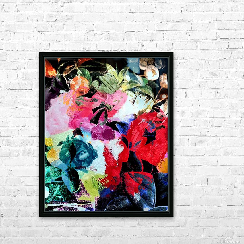 Touched by Nature HD Sublimation Metal print with Decorating Float Frame (BOX)