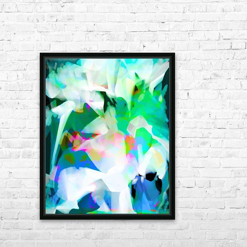 Snowdrops in Spring HD sublimation métal imprimé avec décoration flotteur cadre (boîte)
