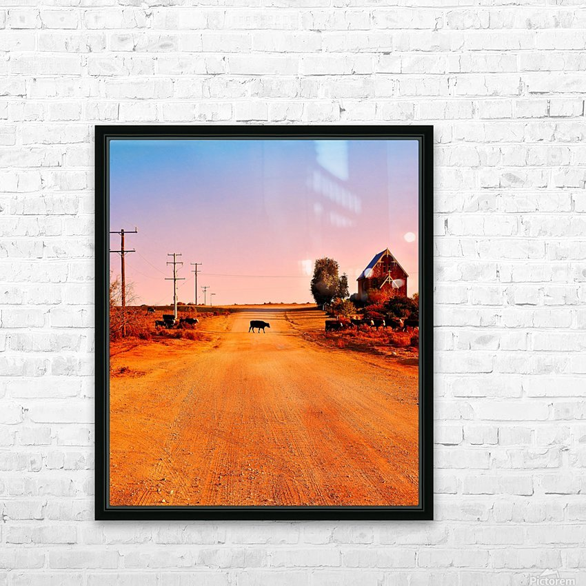 Quirky Sights of the Outback 1 HD Sublimation Metal print with Decorating Float Frame (BOX)