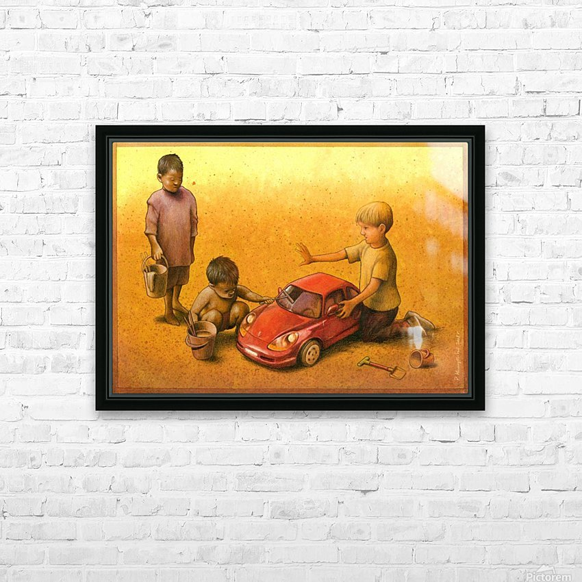 PawelKuczynski35 HD Sublimation Metal print with Decorating Float Frame (BOX)