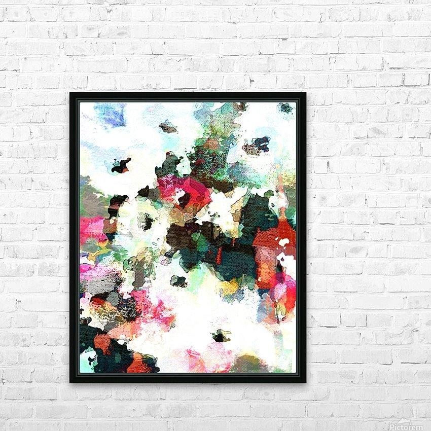 Poppies of Peace HD sublimation métal imprimé avec décoration flotteur cadre (boîte)