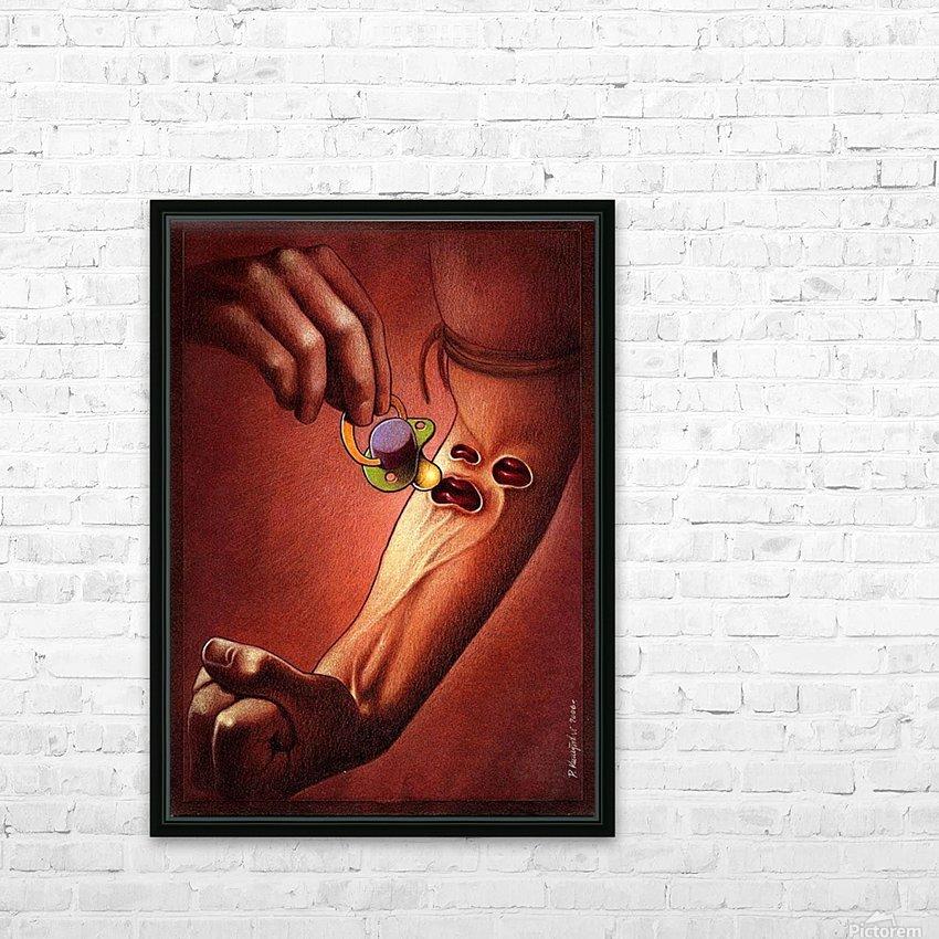 PawelKuczynski36 HD Sublimation Metal print with Decorating Float Frame (BOX)