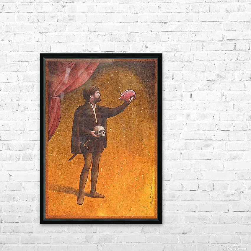 PawelKuczynski38 HD Sublimation Metal print with Decorating Float Frame (BOX)