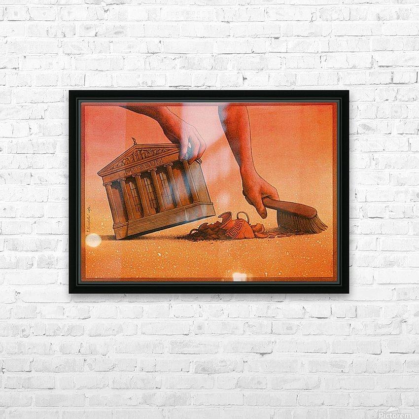 PawelKuczynski40 HD Sublimation Metal print with Decorating Float Frame (BOX)
