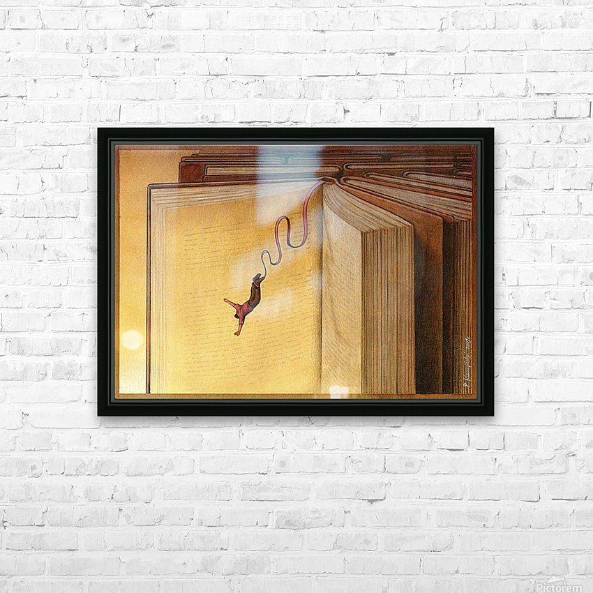 PawelKuczynski41 HD Sublimation Metal print with Decorating Float Frame (BOX)