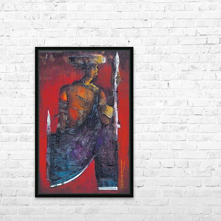 Red Massai HD sublimation métal imprimé avec décoration flotteur cadre (boîte)