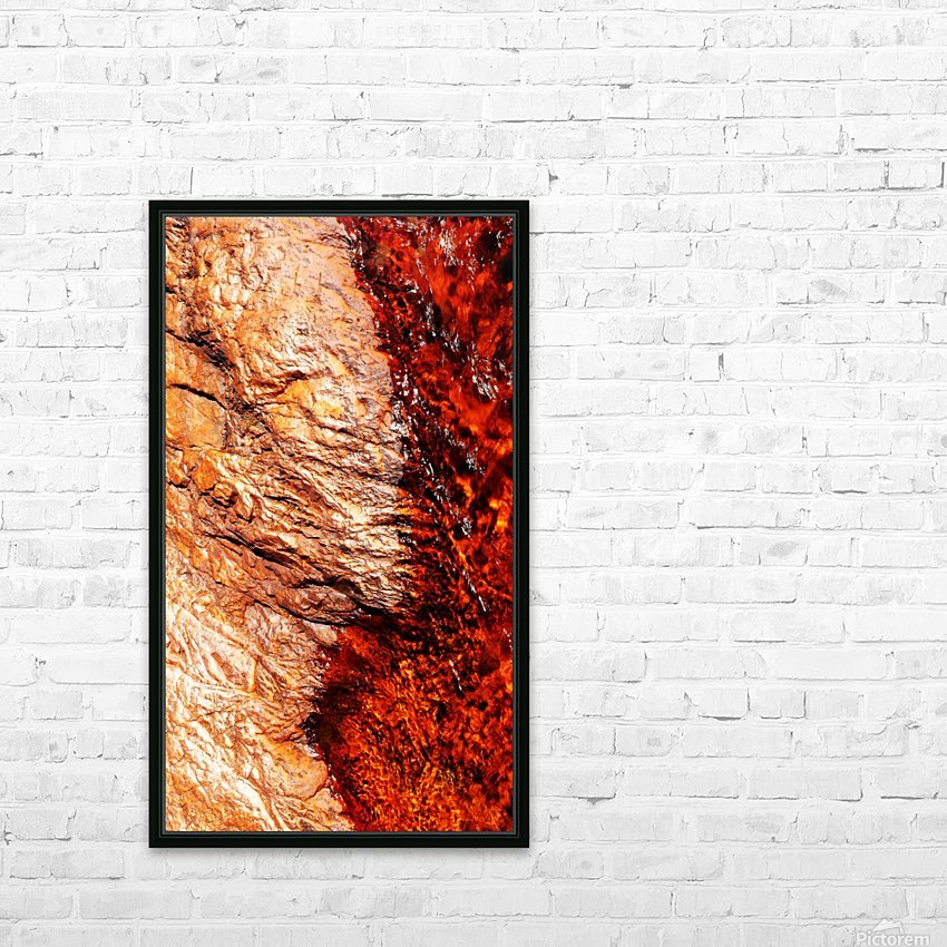 Australia Rocks - Abstract 28 HD Sublimation Metal print with Decorating Float Frame (BOX)