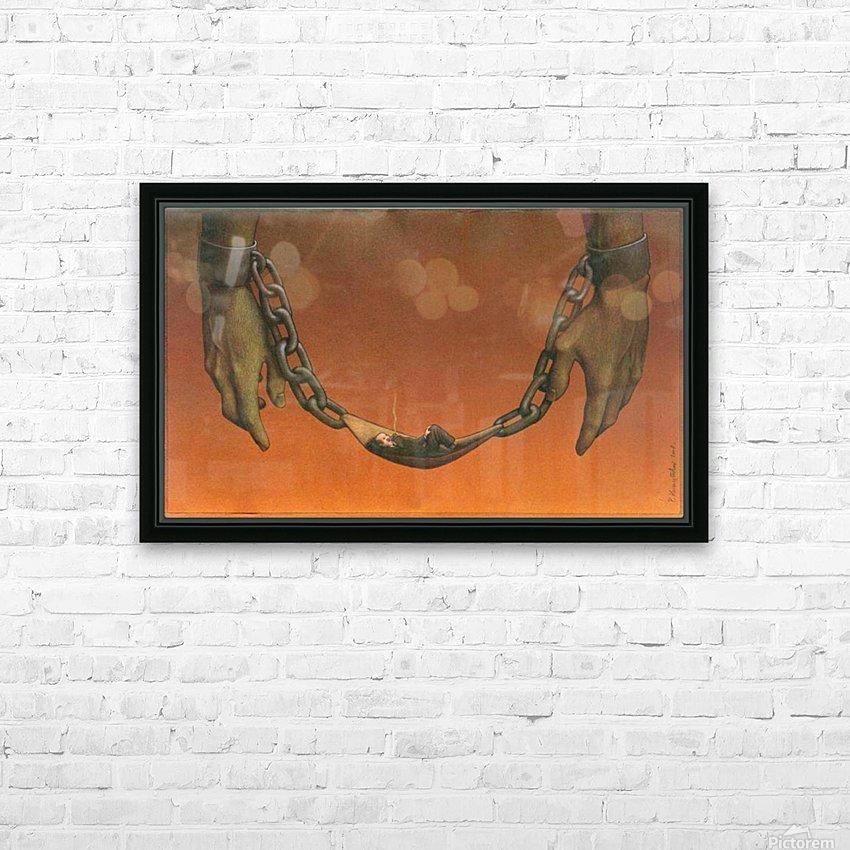 PawelKuczynski43 HD Sublimation Metal print with Decorating Float Frame (BOX)