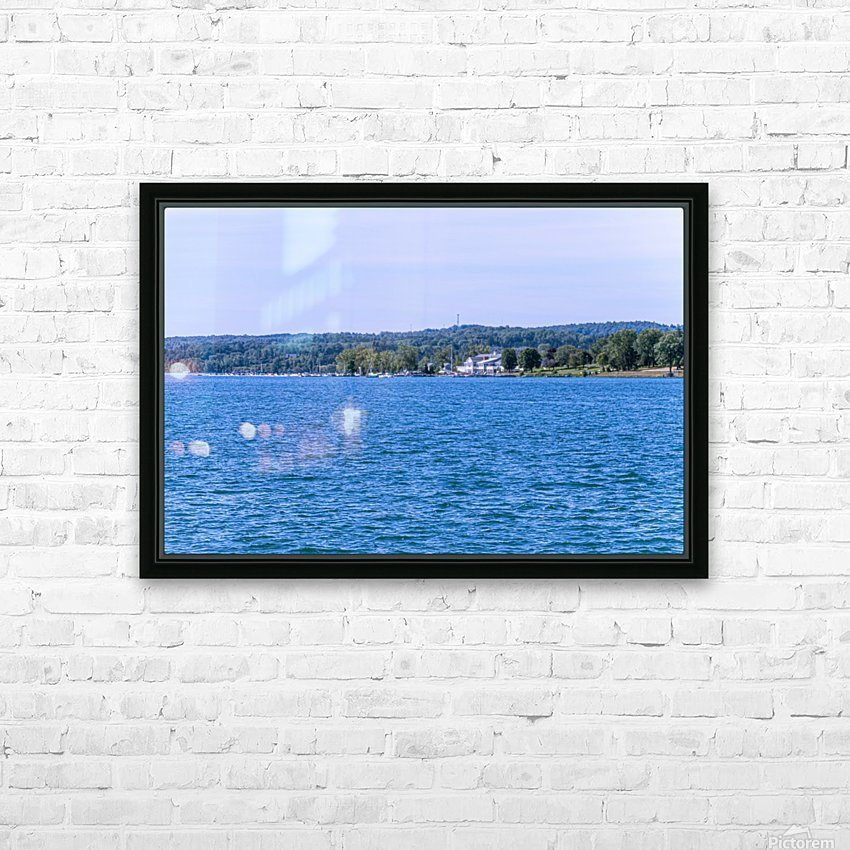 Skaneateles Lake 6 HD Sublimation Metal print with Decorating Float Frame (BOX)