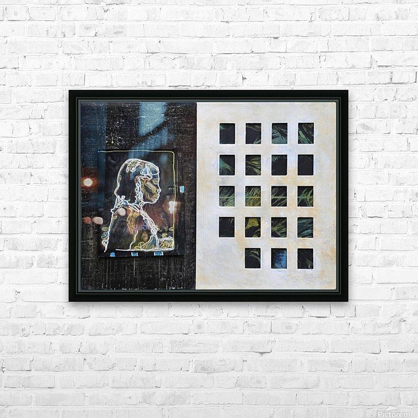 Wired life HD sublimation métal imprimé avec décoration flotteur cadre (boîte)